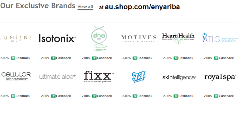 au.shop.com/enyariba  - 5 Reasons Why Internet Shopping Is Important To Me and My Family