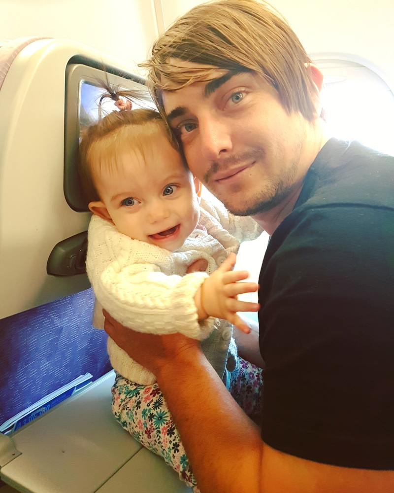 Top Tips When Flying With A Baby
