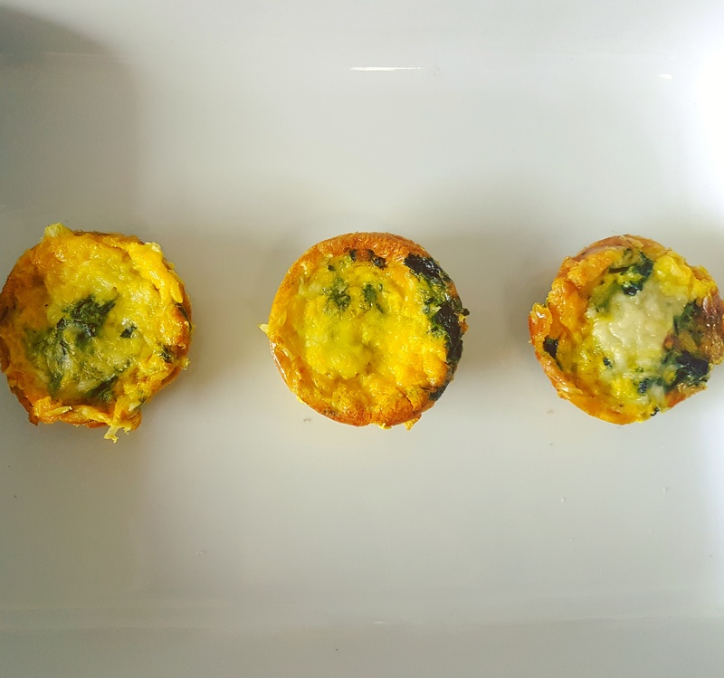 Healthy Turmeric Quiches