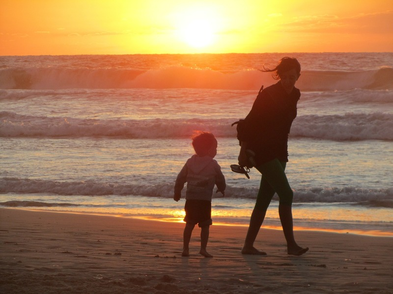 Walking on the beach  - 20 Ways For Mums To Reduce Stress