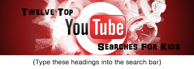 12 Awesome YouTube Searches For Families
